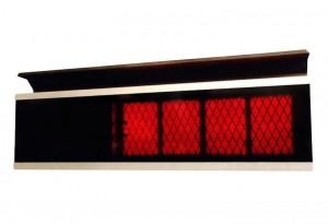 Patio radyant ısıtıcı