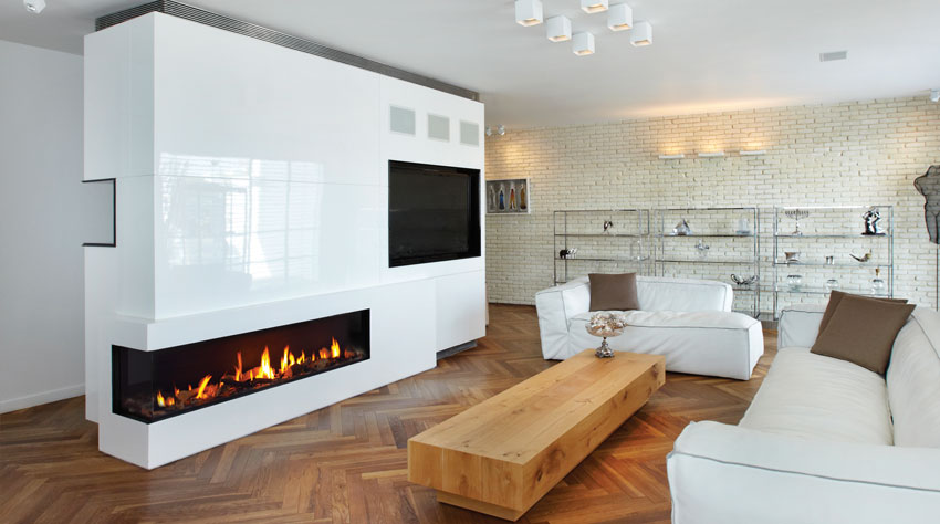 Gas Fired Fireplaces